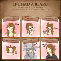 Beard Meme xD by wivimon