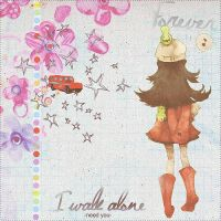 Forever I walk alone -Need U- by AliRed