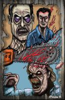 Evil Dead by rqgraphics
