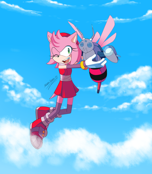 Amy and Bea by SonicWind-01