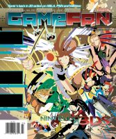 GameFan Issue 06 Cover WIP 01 by RobDuenas