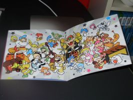 Super Mario 3D world artbook soundtrack by Zenox-furry-man
