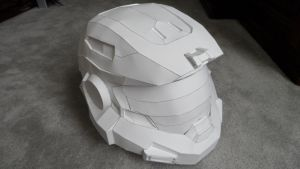Halo Reach Mark V [B] helmet by azn-ninja