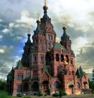 russian church fairy tales by titoune33