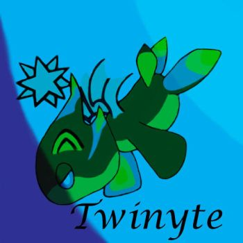 Twinyte - Dark Swimming Chao by Kaligraphy22