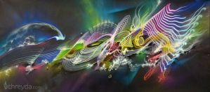 Neon Synthesis by digitalreflexion