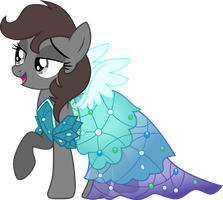 ShadowStone in the Princess Dress by TheShadowStone