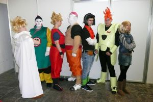 dragon ball group by JAVIER-F