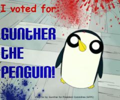 Gunter for President! by GUNTERforPRESIDENT