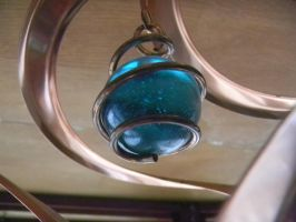 Teal Marble by The-Lighted-Soul