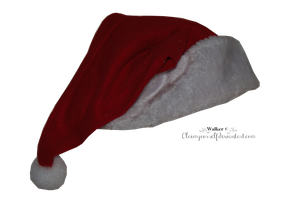Santa Hat PNG Stock by TrisStock