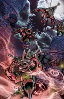 TMNT 2012 by Foreman and Shelton by chris-foreman