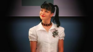 Pauley Perrette Perky Abby by Dave-Daring