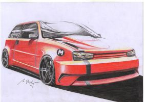 Vw golf by Mipo-Design