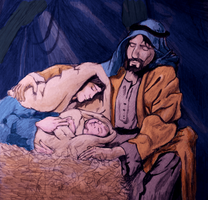 a manger lullaby by Corsico