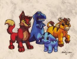 My Neopets by CrazyRabidPony