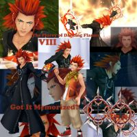 Kingdom Hearts- Axel by EmotionalDisaster666