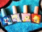 Pony Nail Polish(2) by PikaChub