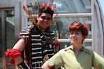 Rufio and Pan SDCC 2014 by TheRealLittleMermaid