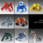 Tiny Multipeds by izzolegostyle