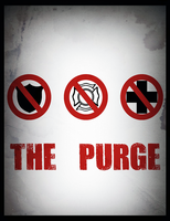 The Purge Minimalist Poster by MrAngryDog
