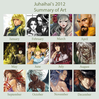 2012 Art Summary by juhaihai