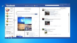 Facebook F9 Concept Client v1 by Reymond-P-Scene