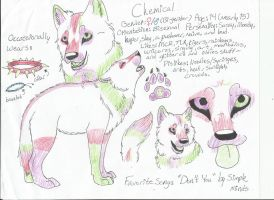 Chemical Reference Sheet by MCRWolfeh