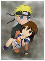 AT: ..:Naruto x Ren:.. -chibi- by ota-chan