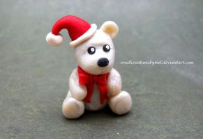 Christmas Bear by SmallCreationsByMel