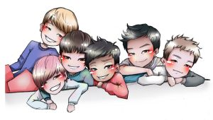 B.A.P by HosomiAme