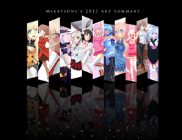 2012 Art Summary by Mikatsune
