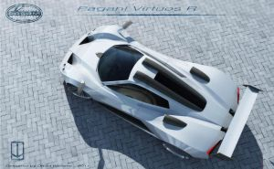 Pagani Virtuos R top view by wizzoo7