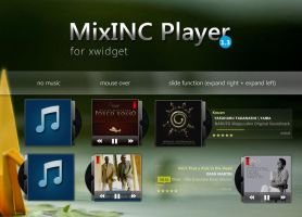 MixInc Player 1.3  for Xwidget by shinobireverse