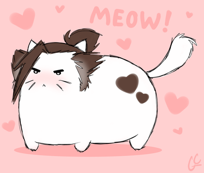 Meow! by GinaCookies