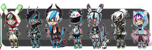 Tech Adopts Auction - [CLOSED] by ButterflyBandit