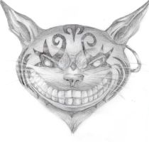 Cheshire Cat by 00TypeZero00