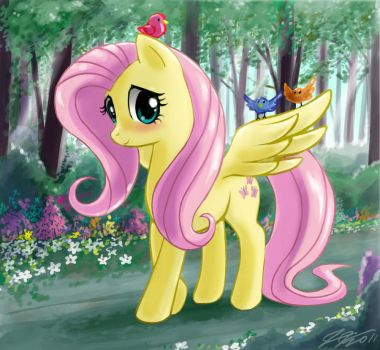 Fluttershy by johnjoseco