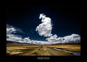 Tibetan High Plateau I by FelixTo