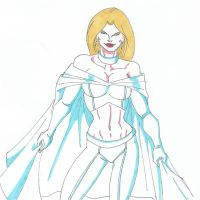 X-Change 9: Emma Frost by RobertMacQuarrie1