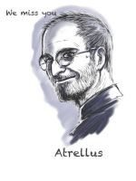 tribute Steve Jobs by atrellus31