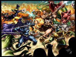 He-Man and the Masters of the Universe by perfectionist7