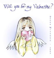 Will You be my Valentine? by moonherb