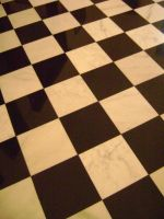 Checkered Floor by SilverWynd