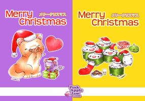 2010-2013 :: Merry Christmas by PinkAppleJam