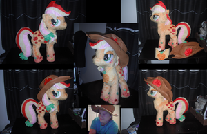Rainbow Powered Applejack - Preview by SamalaKatal