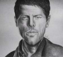Misha Collins by Crimson-rose-x