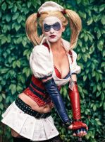 My name is Harley Quinn, I am your nurse! by MadameSkunk