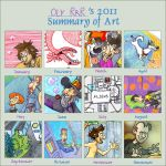 Art Summary 2011 by Oly-RRR