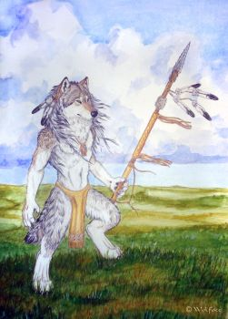 Great Plains Wolf by Wolfote